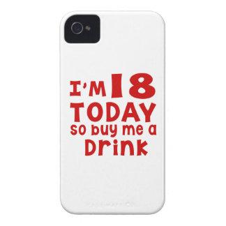 Capinha iPhone 4 Eu sou 18 hoje assim que compre-me uma bebida