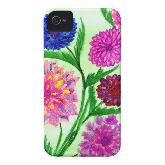 Capinha iPhone 4 Flores coloridas 4