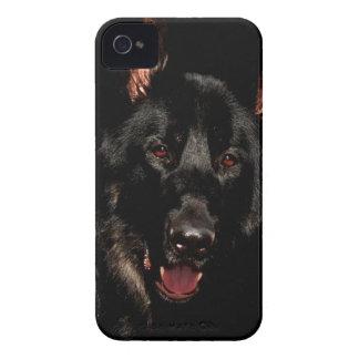Capinha iPhone 4 German shepherd preto