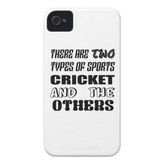 Capinha iPhone 4 Há dois tipos de esportes cricket e outro