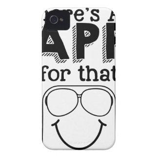 Capinha iPhone 4 Há um app para aquele