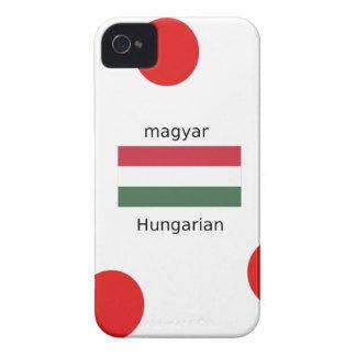 Capinha iPhone 4 Língua de Hungria e design da bandeira