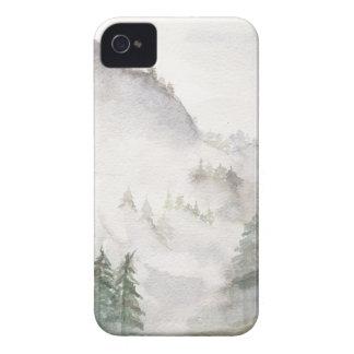 Capinha iPhone 4 Montanhas enevoadas