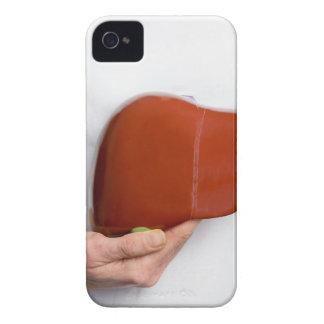 Capinha iPhone 4 Mulher que guardara o modelo humano do fígado no