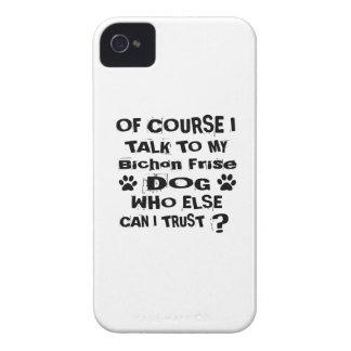 Capinha iPhone 4 Naturalmente eu falo a meu design do cão de Bichon