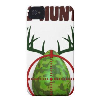 Capinha iPhone 4 O caçador perito da páscoa, cervo do ovo visa o