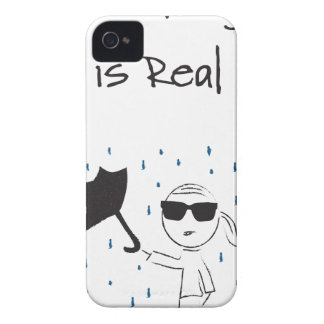 Capinha iPhone 4 O esforço da falha do guarda-chuva é real