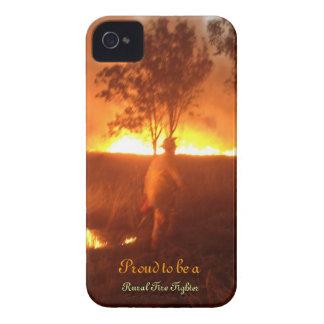 Capinha iPhone 4 Orgulhoso ser um bombeiro rural Iphone 4g BTC