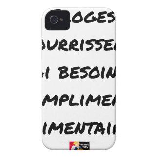 CAPINHA iPhone 4 OS ELOGIOS ME ALIMENTAM, TENHO NECESSIDADE