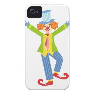 Capinha iPhone 4 Palhaço amigável colorido com os calçados
