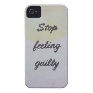 Capinha iPhone 4 Pare de sentir culpado