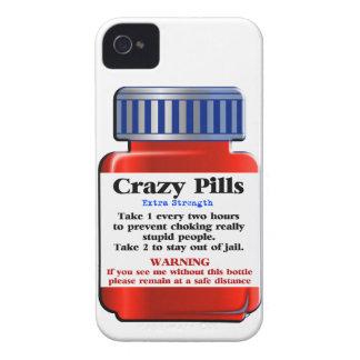 Capinha iPhone 4 Pills_ louco