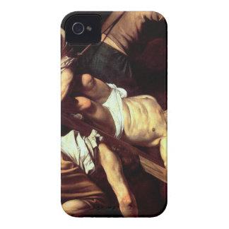 "Capinha iPhone 4 Pintura original ""La crocifissione di s Pietro """