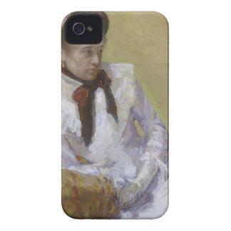 Capinha iPhone 4 Retrato do artista - Mary Cassatt