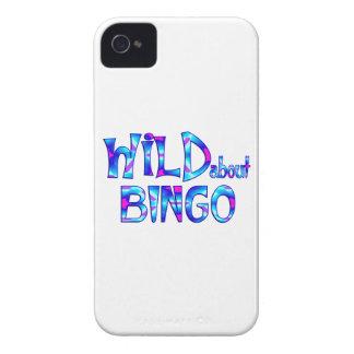 Capinha iPhone 4 Selvagem sobre o Bingo