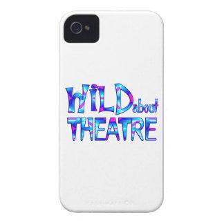 Capinha iPhone 4 Selvagem sobre o teatro