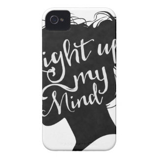 Capinha iPhone 4 Silhouette - light up my mind