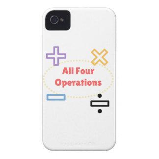 Capinha iPhone 4 Todas as quatro operações