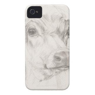 Capinha iPhone 4 Um desenho de uma vaca nova