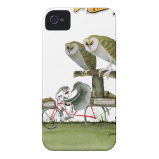 Capinha iPhone 4 unidade hostil do roedor de yorkshire do amor