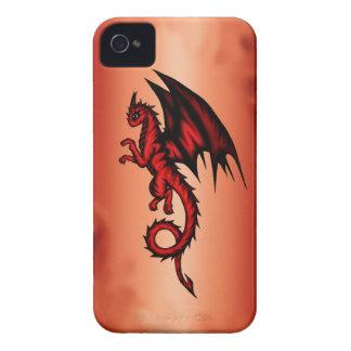 Capinha iPhone 4 Vermelho do dragão