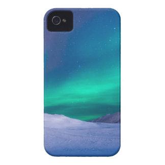 Capinha iPhone 4 Vista cénico do céu dramático durante o inverno