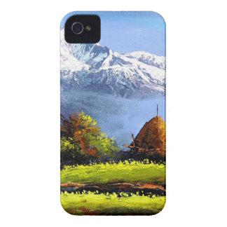 Capinha iPhone 4 Vista panorâmica da montanha bonita de Everest