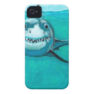 """Capinha iPhone 4 """"Wayne"""" o grande tubarão branco"""
