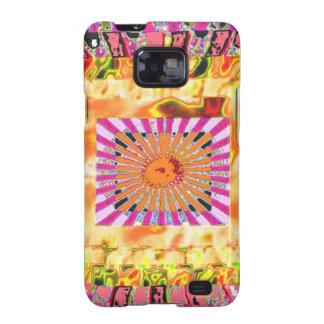 Capinha Samsung Galaxy SII Apresentação artística da luz do sol e da colagem