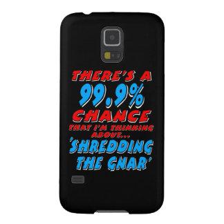 Capinhas Galaxy S5 99,9% SHREDDING O GNAR (branco)