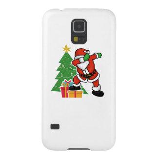 Capinhas Galaxy S5 Árvore de Natal da solha de Papai Noel