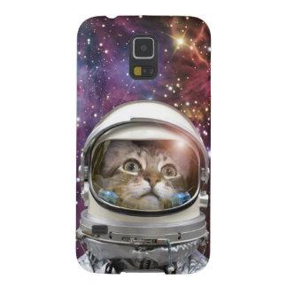 Capinhas Galaxy S5 Astronauta do gato - gato louco - gato
