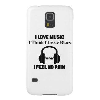 Capinhas Galaxy S5 Azuis clássicos