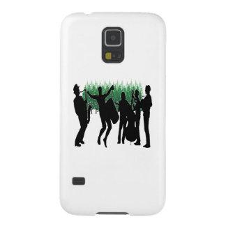 Capinhas Galaxy S5 Azuis verdes