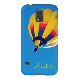 Capinhas Galaxy S5 Balão de ar quente amarelo