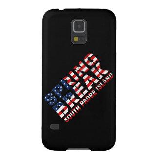 Capinhas Galaxy S5 Bandeira sul dos E.U. da ilha do padre da ruptura