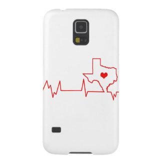 Capinhas Galaxy S5 Batimento cardíaco de Texas
