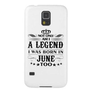Capinhas Galaxy S5 Camiseta das legendas do mês de junho