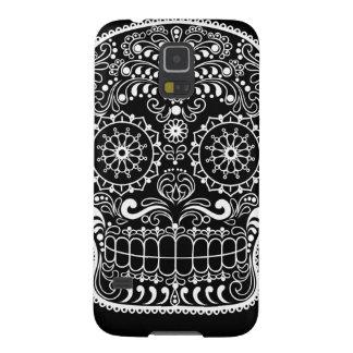Capinhas Galaxy S5 Caso do teste padrão do crânio do açúcar