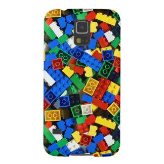 Capinhas Galaxy S5 Construção dos tijolos da construção dos blocos de