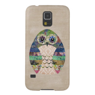 Capinhas Galaxy S5 Costume boémio do pássaro de Boho da coruja