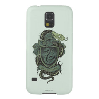 Capinhas Galaxy S5 Crista de Harry Potter | Slytherin