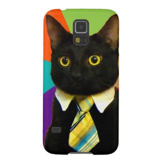 Capinhas Galaxy S5 gato do negócio - gato preto