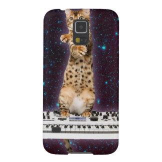Capinhas Galaxy S5 gato do teclado - gatos engraçados - amantes do