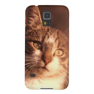 Capinhas Galaxy S5 Gato pensativo