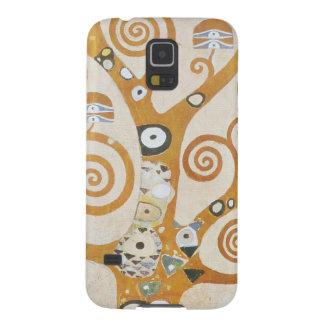 Capinhas Galaxy S5 Gustavo Klimt a árvore da arte Nouveau da vida