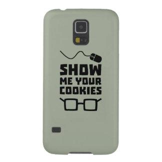 Capinhas Galaxy S5 Mostre-me seu geek Zb975 dos biscoitos