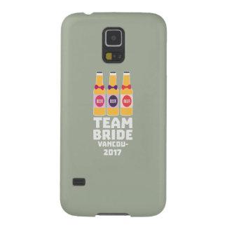 Capinhas Galaxy S5 Noiva Vancôver da equipe 2017 Z13n1