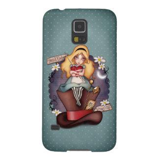 Capinhas Galaxy S5 O coração de Alice