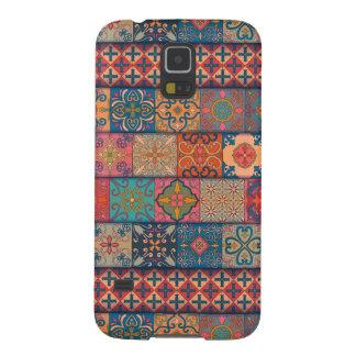 Capinhas Galaxy S5 Ornamento de talavera do mosaico do vintage